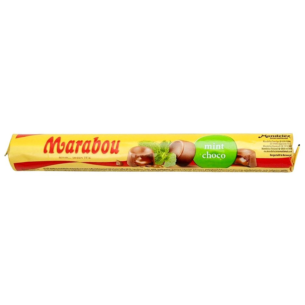 Marabou Rolle mint choco (78g) 1