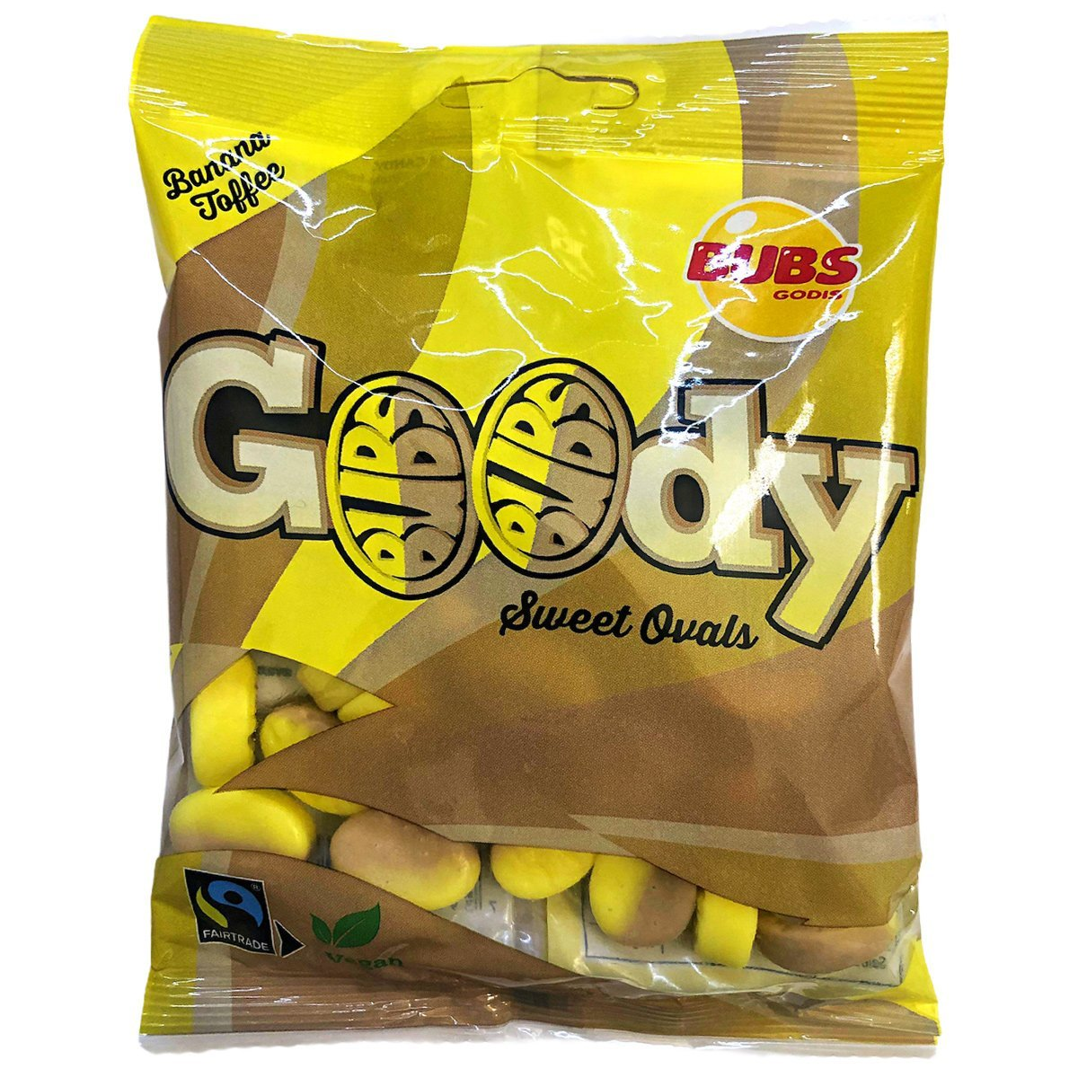 Bubs Goody Sweet Ovals - Banana Toffee  (90g) 1