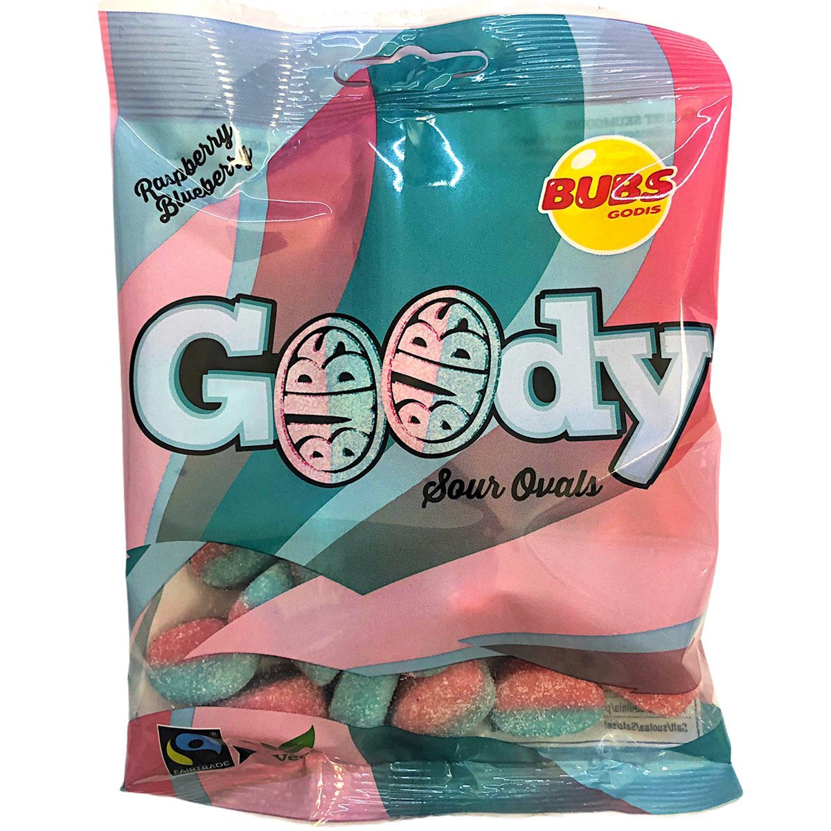 Bubs Goody Sour Ovals (90g) 1