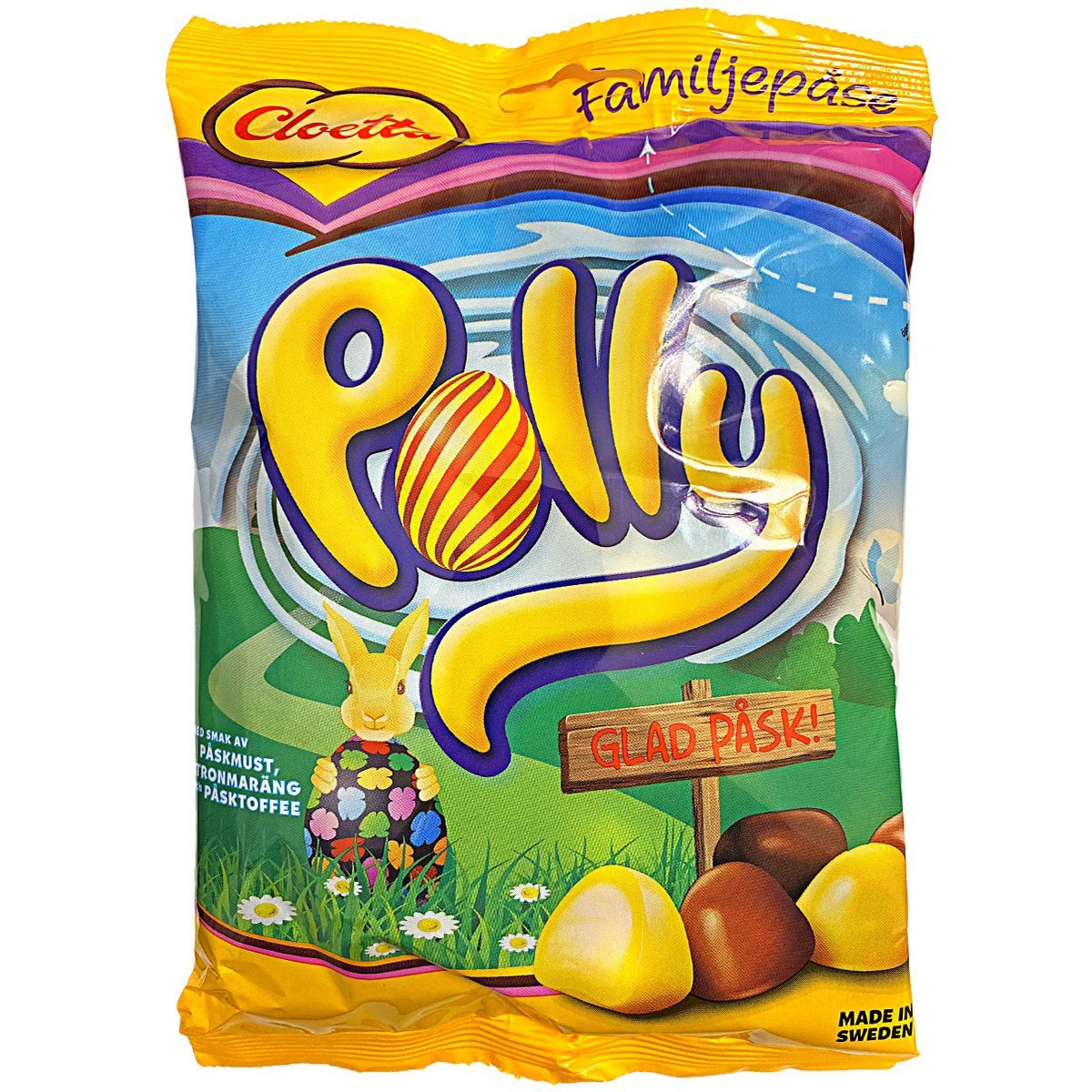 CLOETTA Polly Pask - Frohe Ostern, große Tüte - Familienpackung (300g) 1